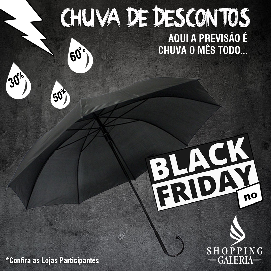 Black Friday Shopping Galeria