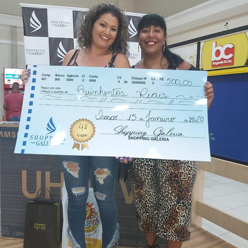 Ganhador da Promoção de Natal 2019 Lucianita - Shopping Galeria