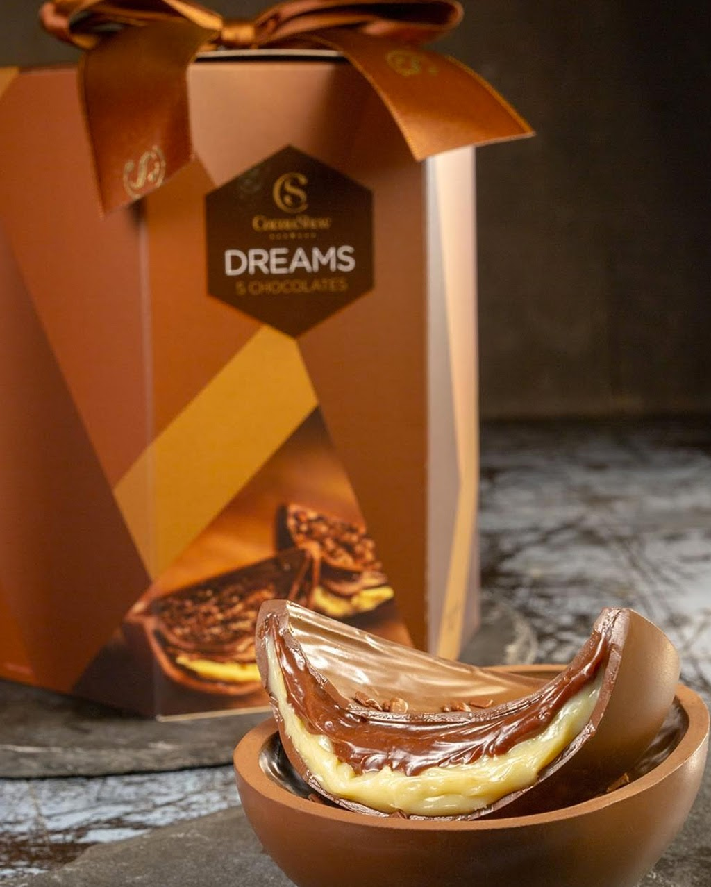 Dreams 5 Chocolates Cacau Show Shopping Galeria