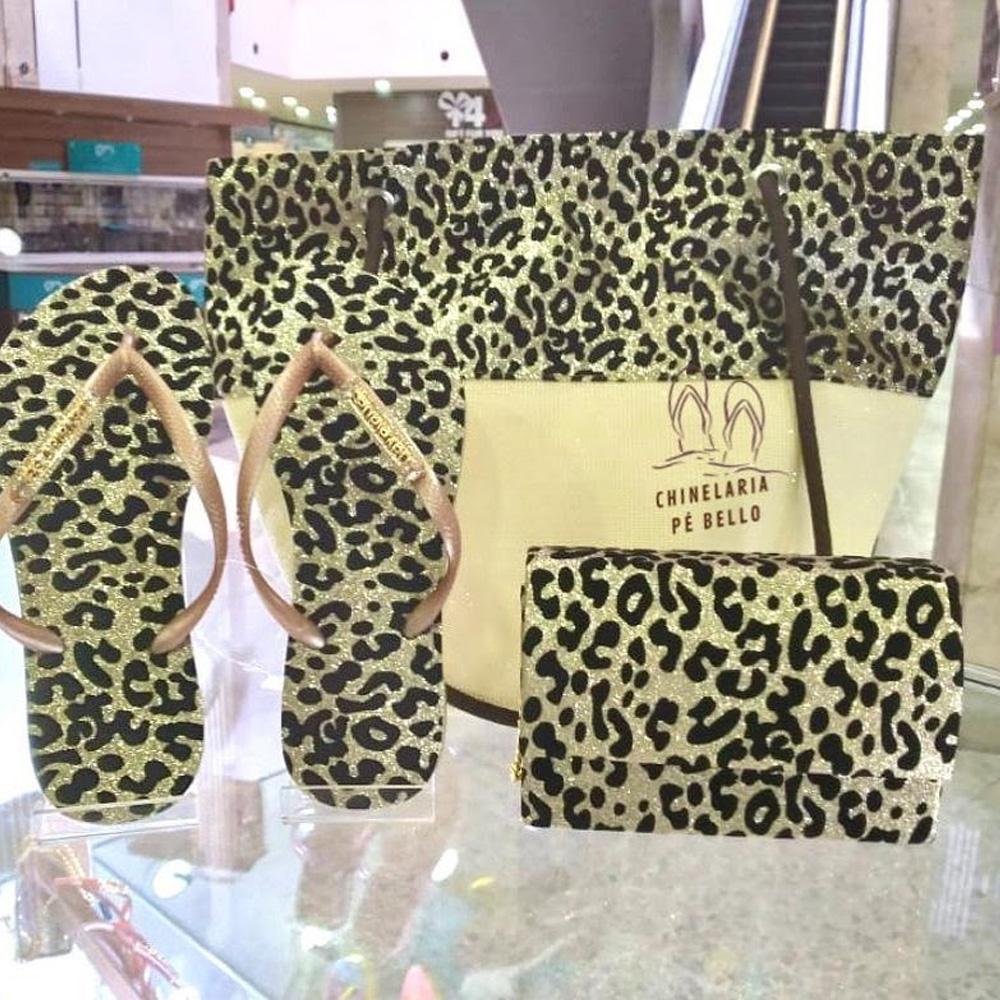Kit Havaianas - Chinelaria Pé Bello - Presentes para o Dia das Mães - Shopping Galeria