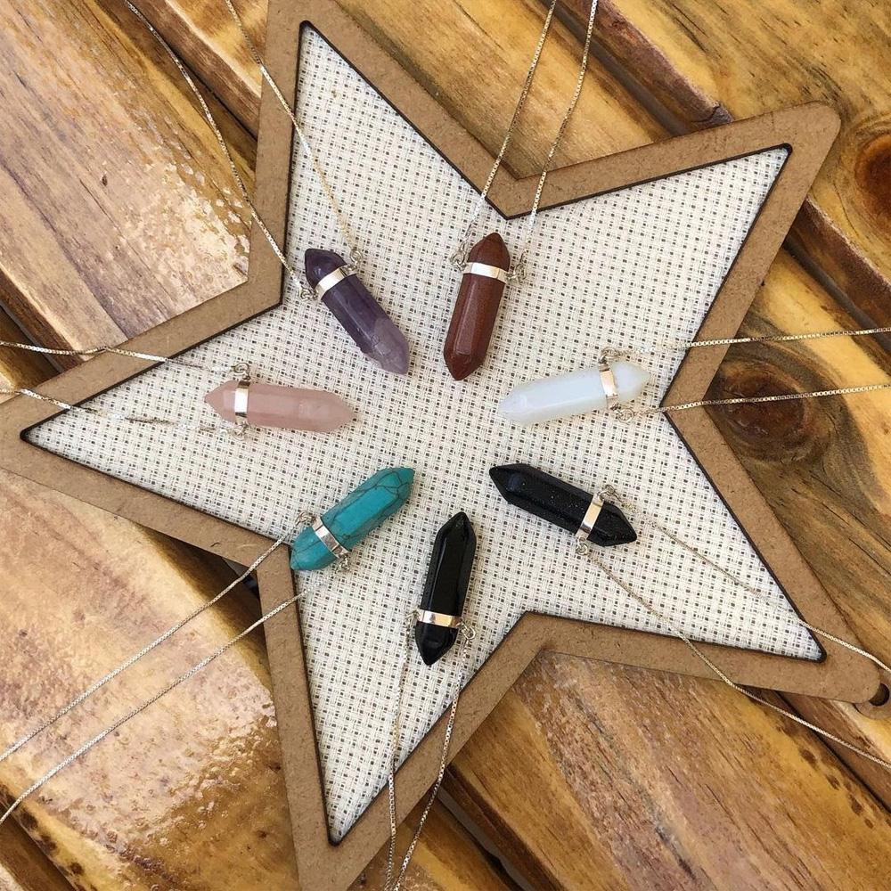 Colar com cristal - Occhineri - Presentes para o Dia das Mães - Shopping Galeria