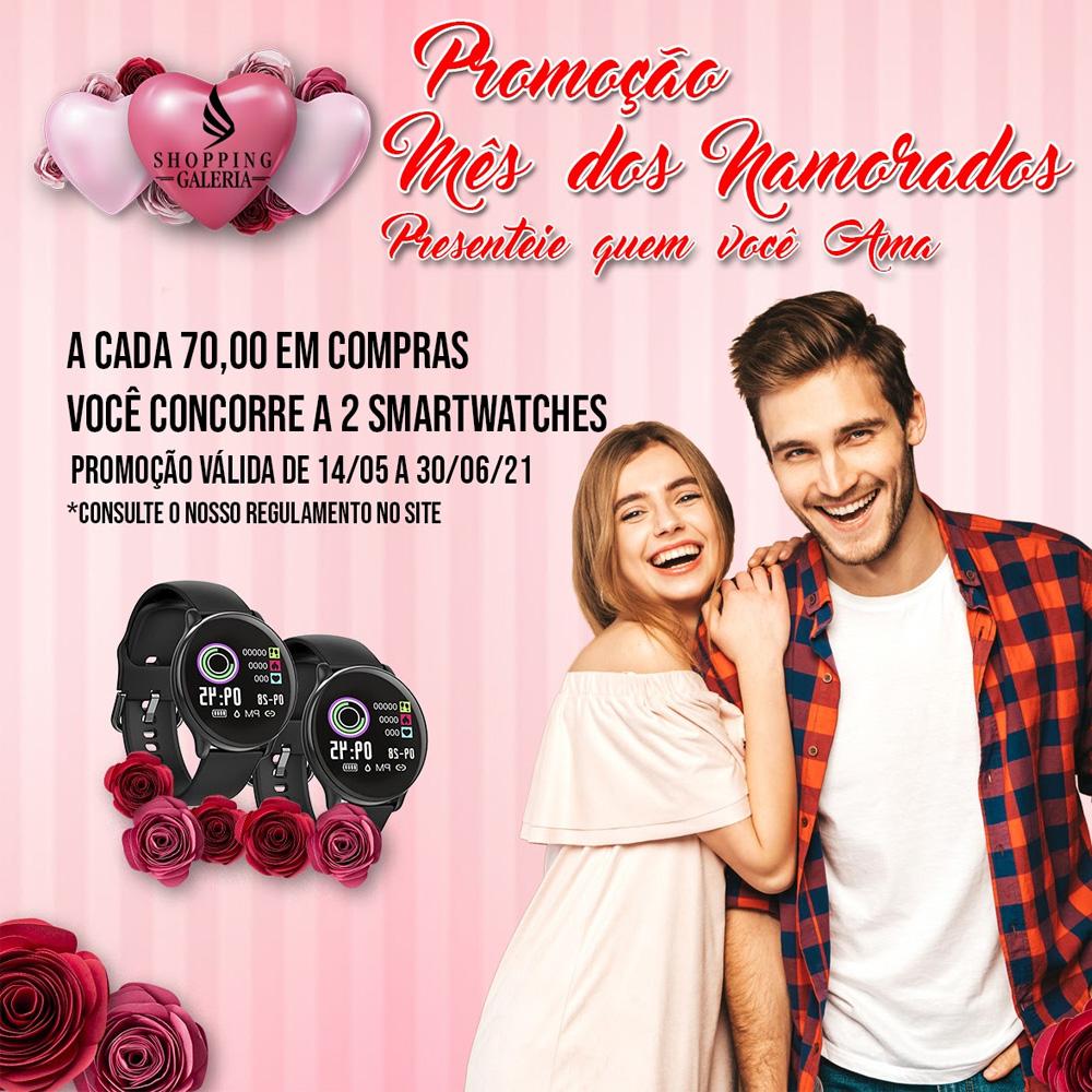 Promoção Mês dos Namorados - Shopping Galeria