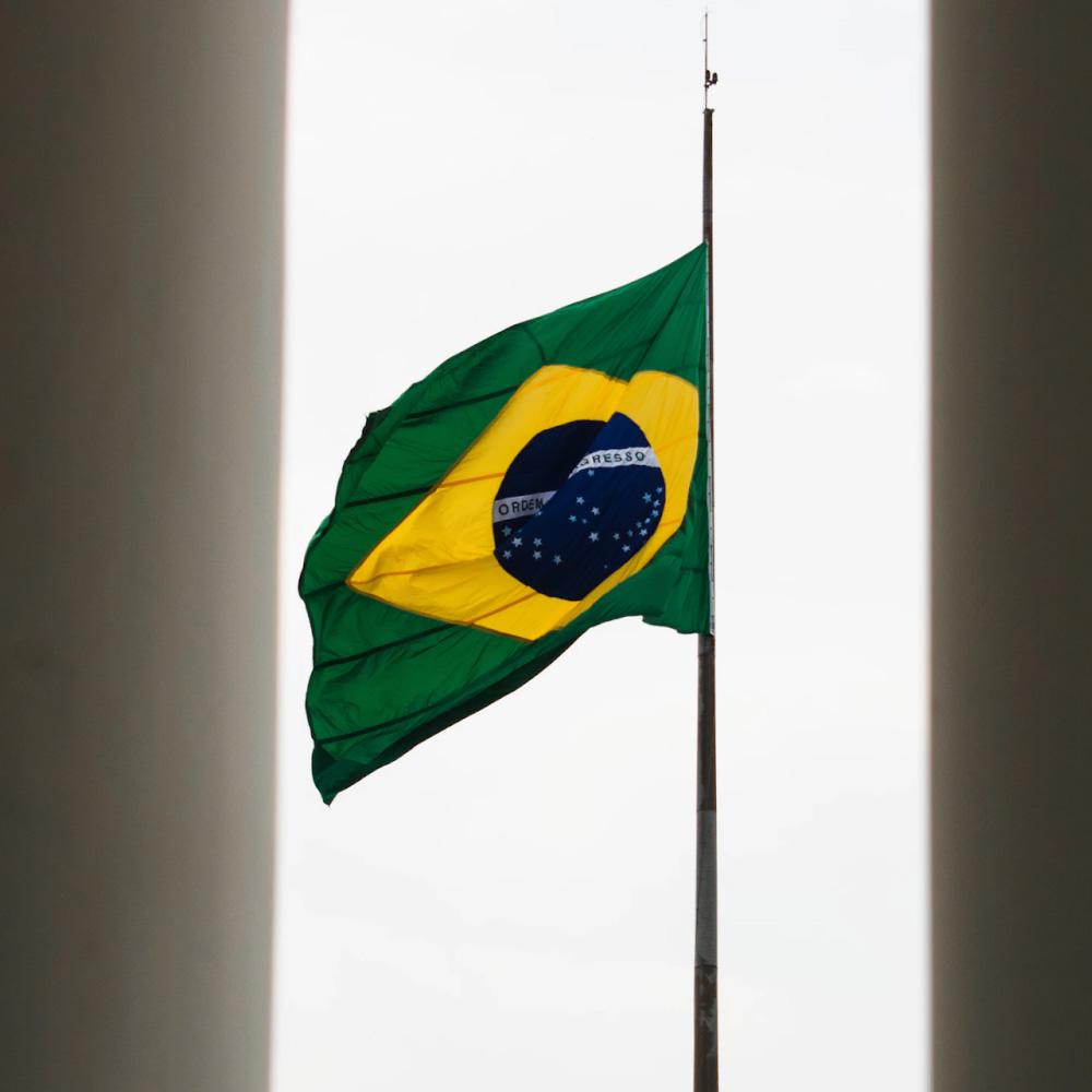 Shopping Galeria - 7 de setembro - bandeira do Brasil