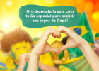 Jogos da Copa do Mundo no @shopgaleria